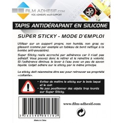 sticky (tapis anti glisse) couleur : transparent