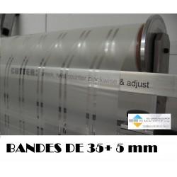 film d'intimité translucide bandes 35/5 mm