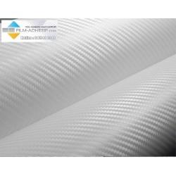 film carbone 3 D blanc