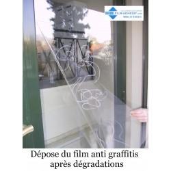 Film sécurité anti déflagrant