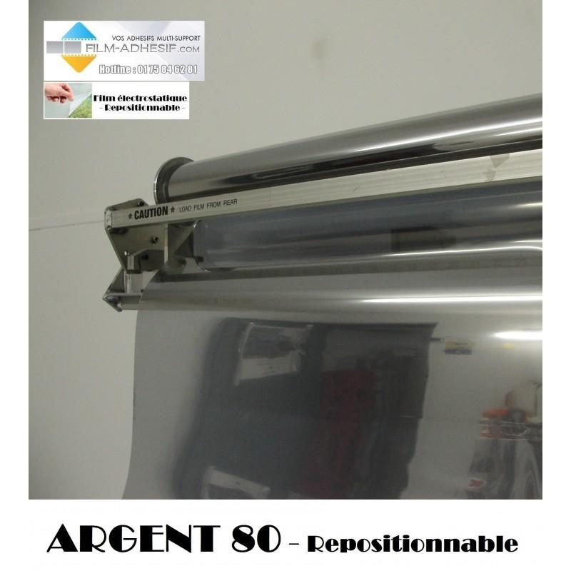 film solaire argent 80 électrostatique