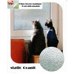 film granit électrostatique